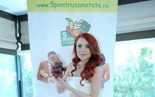 Elena Gheorghe: 5 reţete cu legume recomandate de vedetă