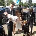 Anca Serea şi Adi Sînă şi-au botezat fetiţa