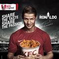 Cristiano Ronaldo, în meciul verii la KFC