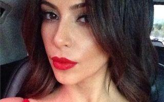 Hollywood: Decolteuri pe reţelele de socializare. Kim Kardashian, mândră de sânii ei