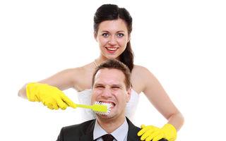 """Poveste adevărată: """"Soțul meu nu vrea să meargă la dentist și mi-e silă să-l sărut"""""""