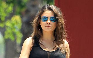 Mila Kunis va renunţa la actorie după ce va deveni mamă