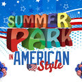 Weekend american la Summer Park Colosseum