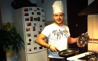Bărbaţi la cratiţă. Liviu Vârciu, inspirat în bucătărie de bunica lui