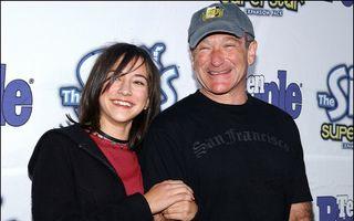 """Fiica lui Robin Williams, mesaj pentru tatăl său: """"Îmi lipseşti. Voi încerca să privesc mereu în sus"""""""