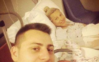 Amna a născut: Prima fotografie cu băieţelul ei