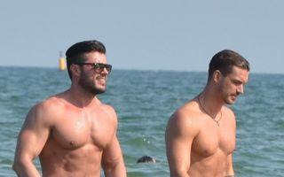 România mondenă: 4 masculi celebri la plajă. Cine arată cel mai bine?