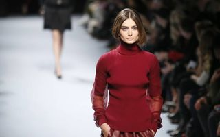 Andreea Diaconu a pozat pentru Vogue