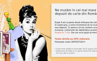 elefant.ro va avea cel mai mare depozit de carte din Romania