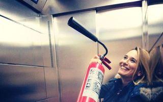 "Andreea Esca a acceptat provocarea ""Ice Bucket Challenge"""