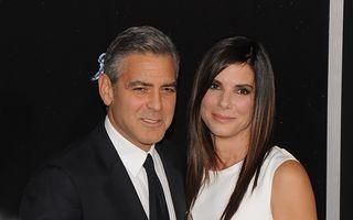 Sandra Bullock şi George Clooney vor juca iar împreună