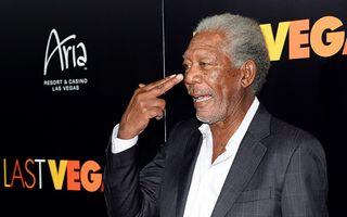 """Morgan Freeman: """"Sexul mă ajută să mă simt tânăr"""""""