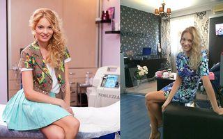 Valentina Pelinel si-a schimbat look-ul: A trecut de la blond auriu la... bej