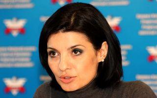 Lavinia Şandru, implicată într-un accident auto în Capitală
