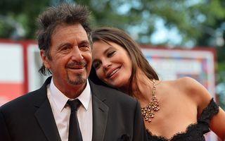 Un cuceritor la 74 de ani: Al Pacino e fericit cu iubita lui, mai tânără cu 39 de ani