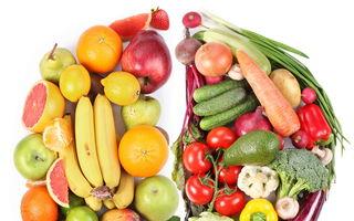 Secretul din fructe şi legume: Cum te ajută în funcţie de culorile lor
