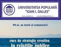 PR-ul, un festin al comunicării. Curs de strategie creativă in relaţiile publice