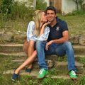 Vacanță la Viscri: Laura Cosoi, clipe de tandrețe cu iubitul ei