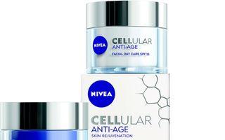 NIVEA lansează cea mai avansată soluţie ANTI-AGE din portofoliu: gama CELLULAR