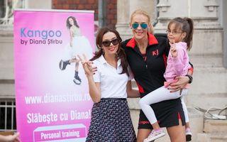 Diana Stirbu a lansat programul kangoo jumps pentru copii alaturi de Ioana Ginghina si Roxana Ciuhulescu