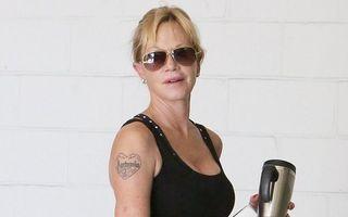 Melanie Griffith vrea să-și șteargă tatuajul cu numele lui Banderas. Îl va înlocui cu o înjurătură!