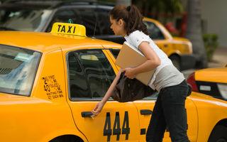VIDEO: Ce poți să pățești când chemi un taxi