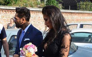 Nașa Raluca Pastramă, fără sutien și cu decolteu adânc la nunta lui Connect-R