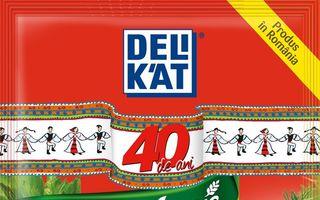 Delikat sărbătorește 40 de ani de tradiție în bucătăriile românilor