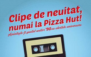 Pizza Hut aniversează 20 de ani de prezență în România
