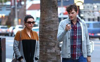 """Ashton Kutcher e mândru de Mila Kunis: """"S-a născut pentru a fi mamă!"""""""