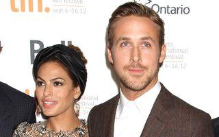 Fetița lui Ryan Gosling și Eva Mendes a primit numele Esmeralda