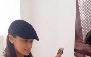 Andreea Raicu, dependentă de aplicațiile de pe mobil