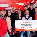 Călin Goia a înmânat premiul de 4.000 de euro, câştigat de un bucureştean la Europa FM