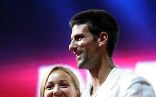Novak Djokovici a devenit tată pentru prima dată