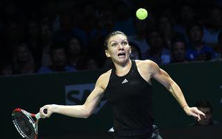 Turneul Campioanelor: Simona Halep, învinsă de Ana Ivanovici. Românca încheie grupa pe primul loc