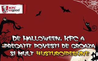 De Halloween, KFC a pregătit povești de groază și mult #usturoipebune