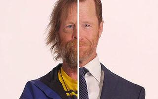 VIDEO: Transformarea senzațională a unui bărbat. Din cerșetor a ajuns să arate ca un actor!