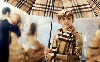 Fiul Victoriei Beckham, eroul campaniei de Crăciun a firmei Burberry