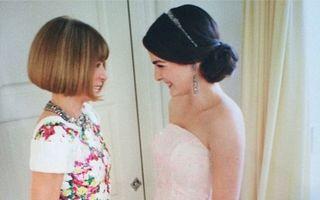 """La mulți ani, Anna Wintour! """"Diabolica"""" șefă de la Vogue, sărbătorită de fiica ei"""