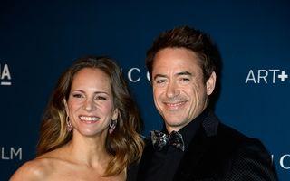 Robert Downey Jr. a devenit tatăl unei fetiţe