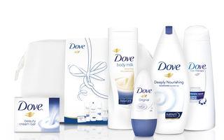 Dăruiește frumusețe cu seturile cadou Dove Care