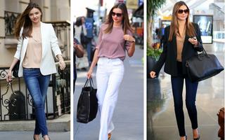 Modă. Inspiră-te din stilul personal al supermodelelor. Ţinute de stradă
