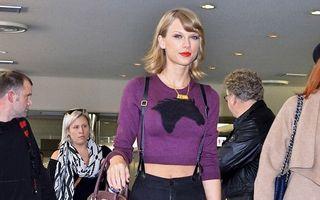 Taylor Swift, ca o păpușă Barbie: Vedeta arată super chiar și într-o ținută casual