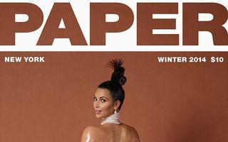 Kim Kardashian a pozat din nou provocator