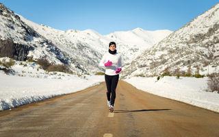 4 sfaturi pentru a alerga şi pe timpul iernii fără să te îmbolnăveşti