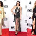 Modă. Top 40 de ţinute de la American Music Awards. Ce-au purtat vedetele pe covorul roşu