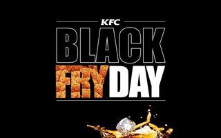 Black Fry Day la KFC