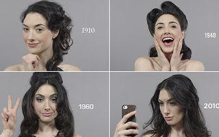 VIDEO: Cum s-a schimbat coafura în 100 de ani