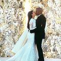 O poză de la nunta lui Kim Kardashian, cea mai apreciată în 2014 pe Instagram