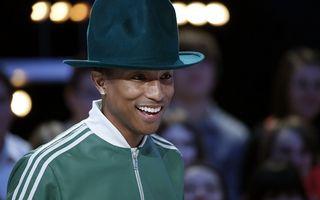 Pharrell Williams a primit o stea pe Walk of Fame